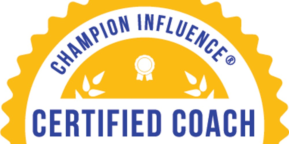 Champion Influence Coaching Certification Program Charlotte Nc