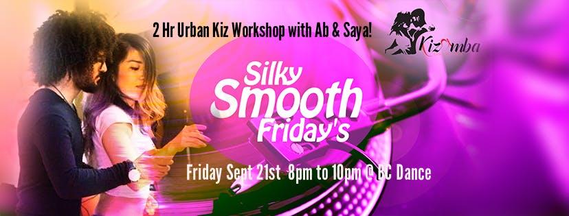 Follow Pass 2 Hour Urban Kiz Workshop with Ab