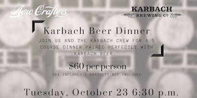 Karbach Beer Dinner