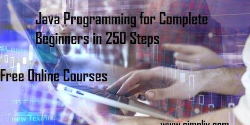 Java Programming for Complete Beginners in 250 Steps