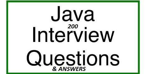 Java Interview Guide : 200+ Interview Questions and Answers - Simpliv