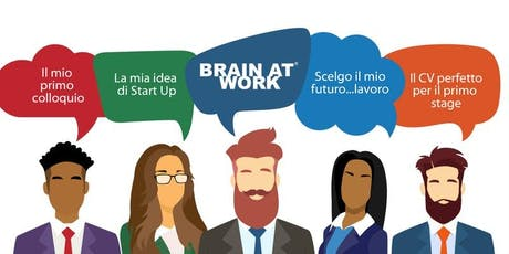 Career Day - Brain at Work Roma Edition - 26 settembre 2019  biglietti
