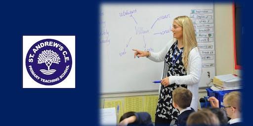 Teacher Training Information Event