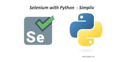 Selenium with Python - Simpliv