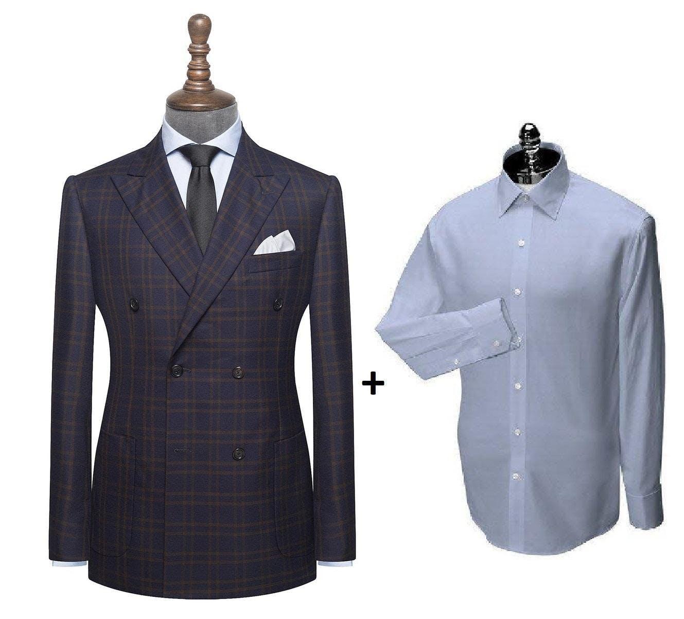 Get It Custom Made To Measure Custom Suit And Custom Shirt