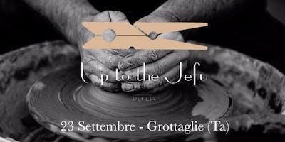 Conte/Etrix@Up to the Jefu-Bottega Caretta-Quartiere delle Ceramiche, Grottaglie