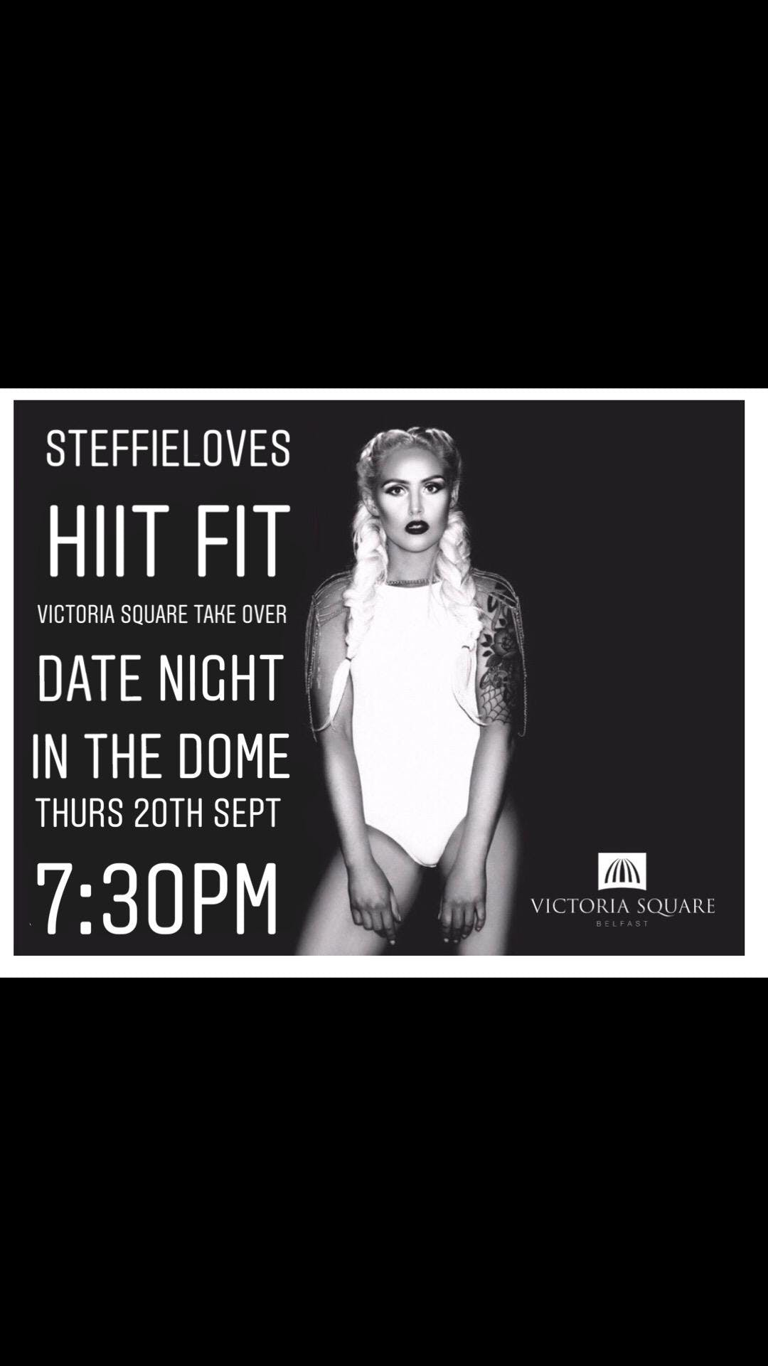 STEFFIELOVES Date night HIIT in the dome - Vi