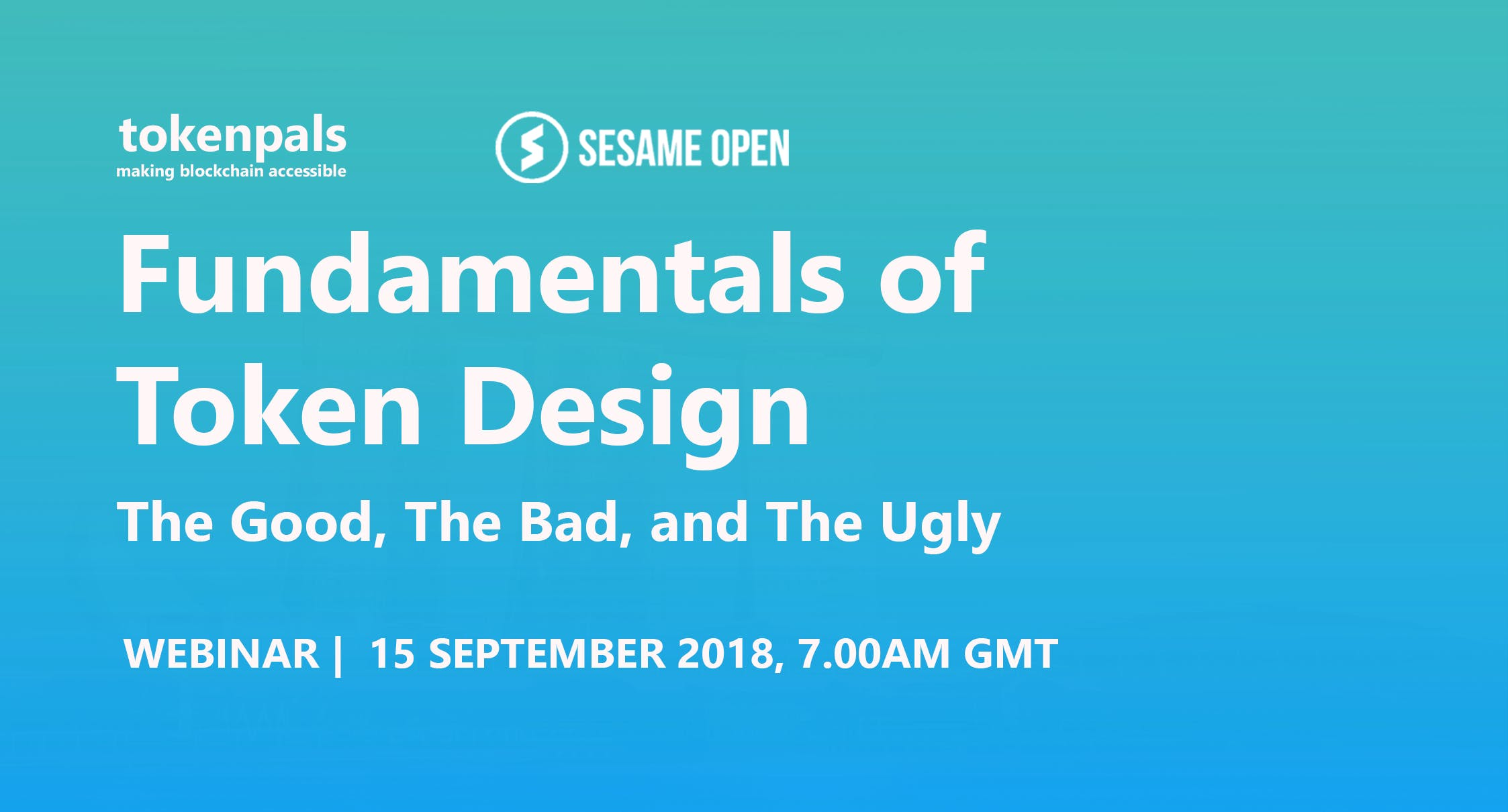 Fundamentals of Token Design - The Good, The