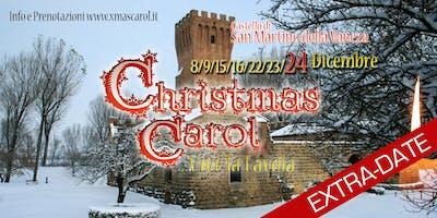 [EXTRADATE 24dic] CHRISTMAS CAROL   Il Canto di Natale - Teatro Itinerante a Natale