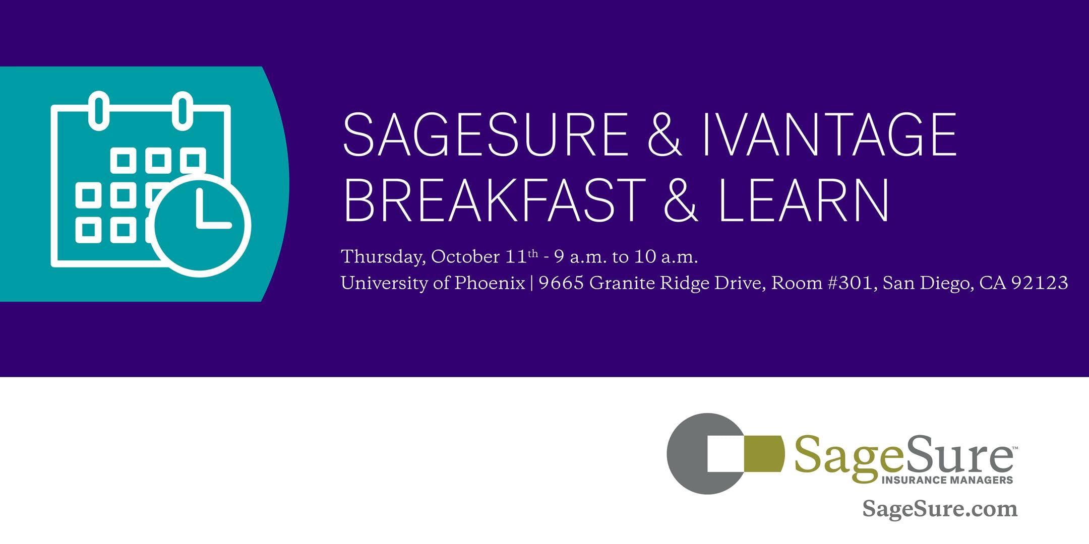 Sagesure Breakfast Learn 11 Oct 2018