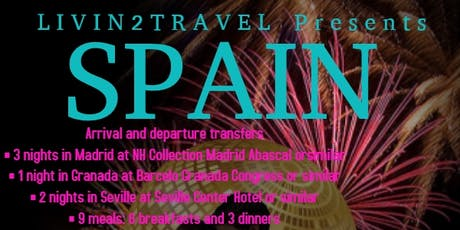 Livin2travel presents SPAIN biglietti