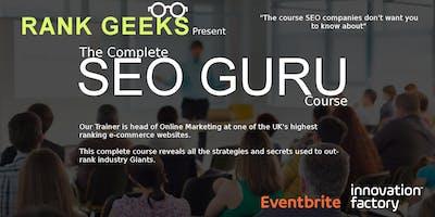 The SEO GURU Course in Digital Marketing. 4 x Evening Sessions