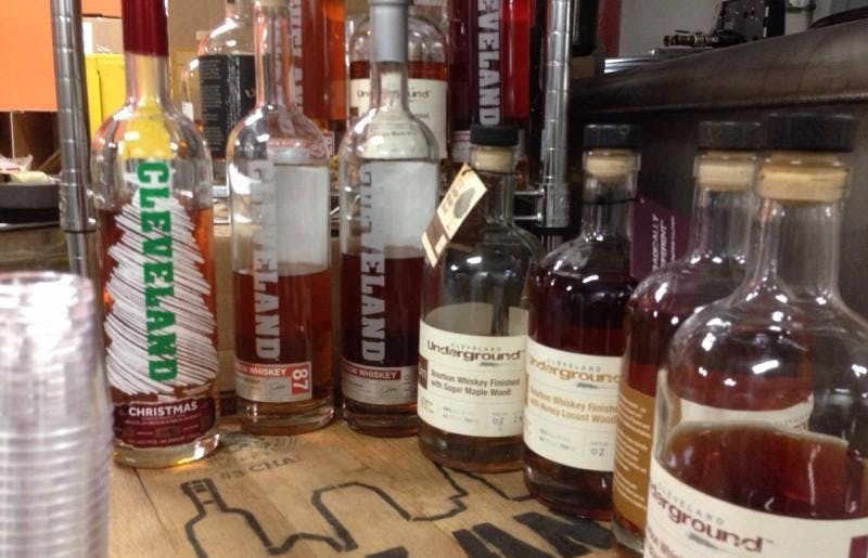 Cleveland Whiskey Classroom Tasting Event