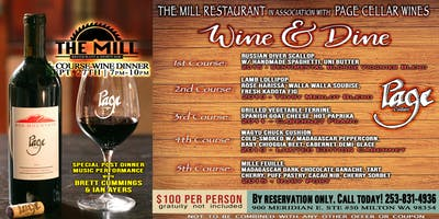 The Mill Restaurant & Page Cellars Wine & Dine