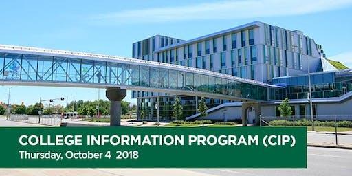 CIP 2019 (College Information Program)