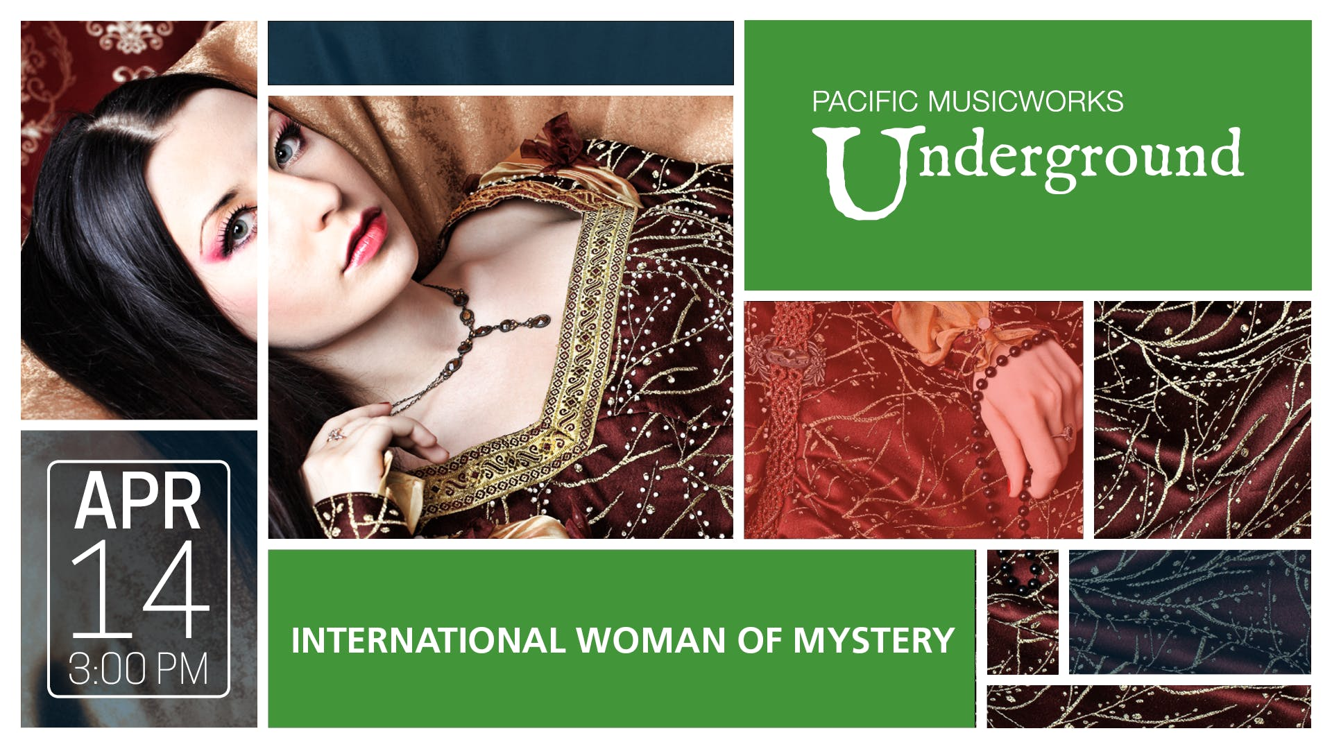 INTERNATIONAL WOMAN OF MYSTERY