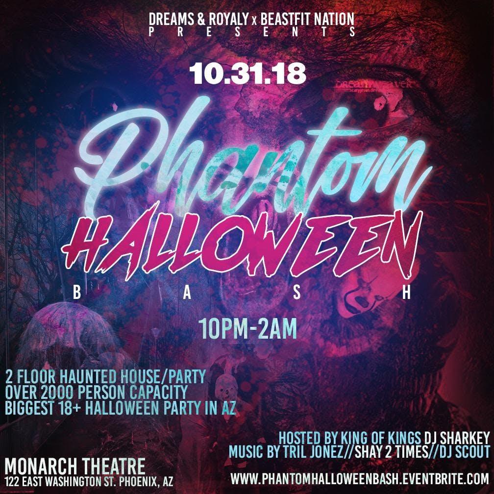 Phantom Halloween Bash