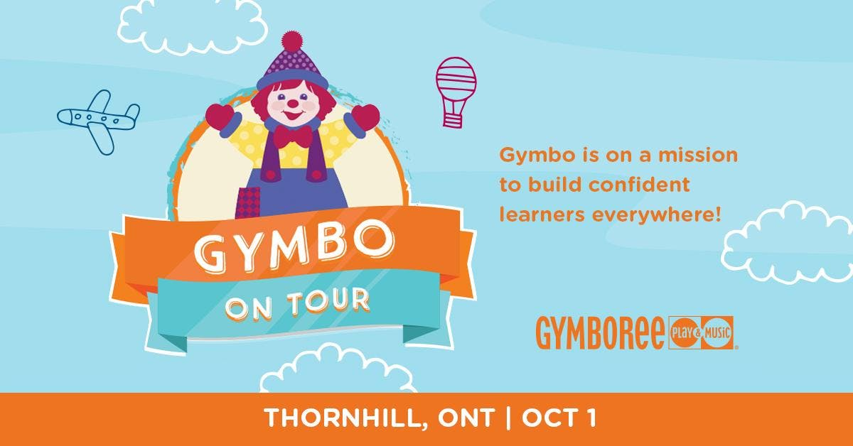 Gymbo On Tour at Gymboree Play & Music, Thorn