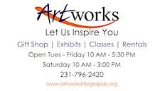 Artworks in Big Rapids logo