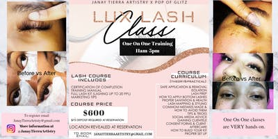 Lux Lash One On One Training