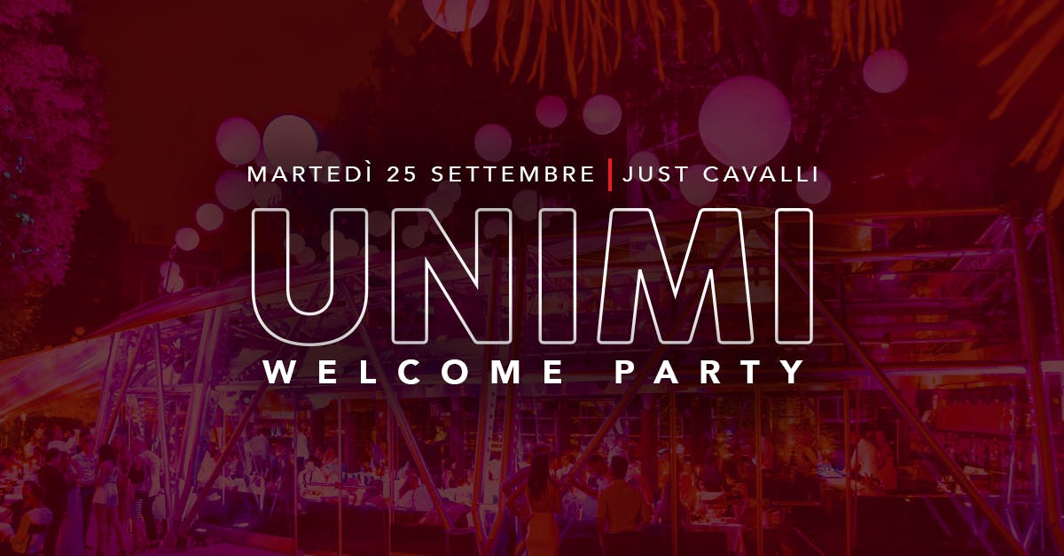 UNIMI Welcome Party!