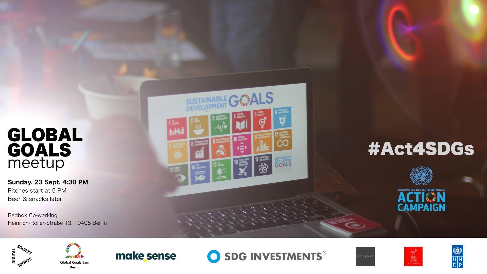 Global Goals Berlin Meetup | #Act4SDGs