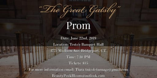 1st Annual Great Gatsby Adult Prom ✨