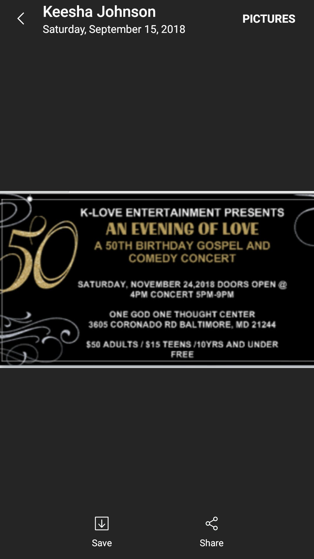 K-Love Ent. Presents `An Evening of Love` - 24 NOV 2018