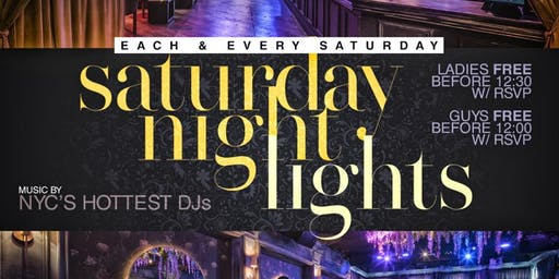 SATURDAY NIGHT LIGHTS Hiphop | Caribbean | Afro Beats W/ No Cover For ALL