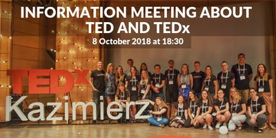 Info meeting about TED and local TEDx-es in Poland and abroad