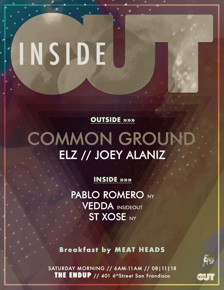 Inside Out Saturday Morning w/ Frequency SF &