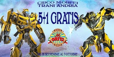 Circo M.Orfei a TRANI (e Andria) fino al 7 ottobre
