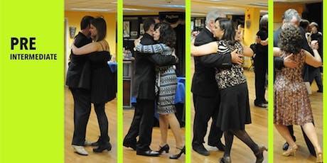 Pre-Intermediate Argentine Tango progressive 8 weeks course tickets