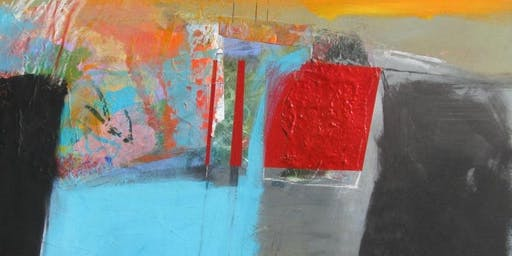 Stan Kurth-Mix It Up On Canvas, Mixed Media and Collage