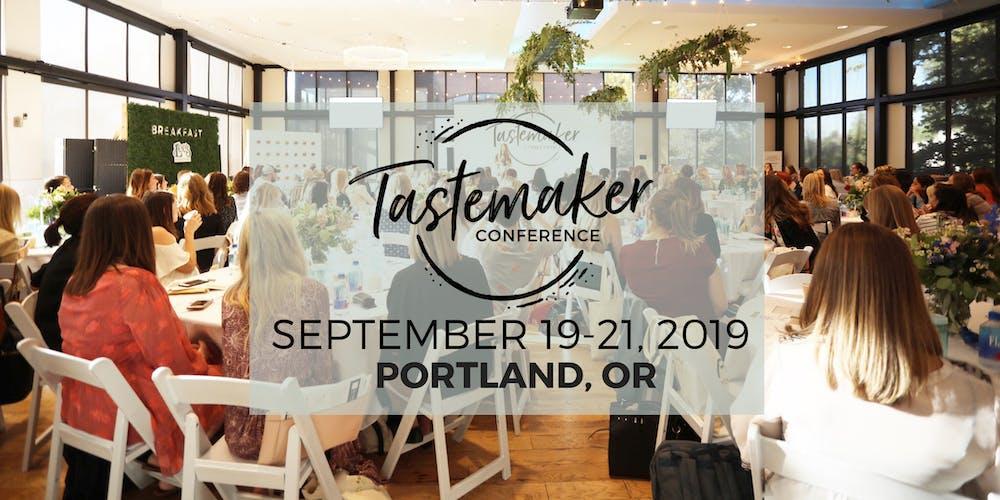 Tastemaker Conference 2019: the premier food blogger