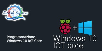 Programmazione Windows 10 IoT Core