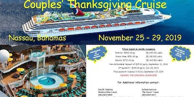 Thanksgiving Couples Cruise 2019 by Watkins Elite Travel