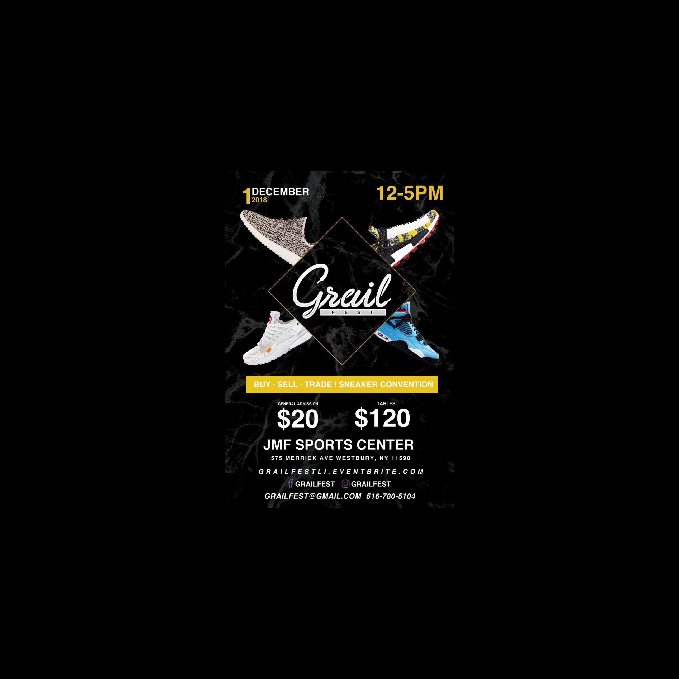 Grail Fest Long Island Sneaker Convention 12118 1 Dec 2018