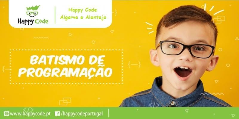 Batismo de Programação - Happy Code Algarve e