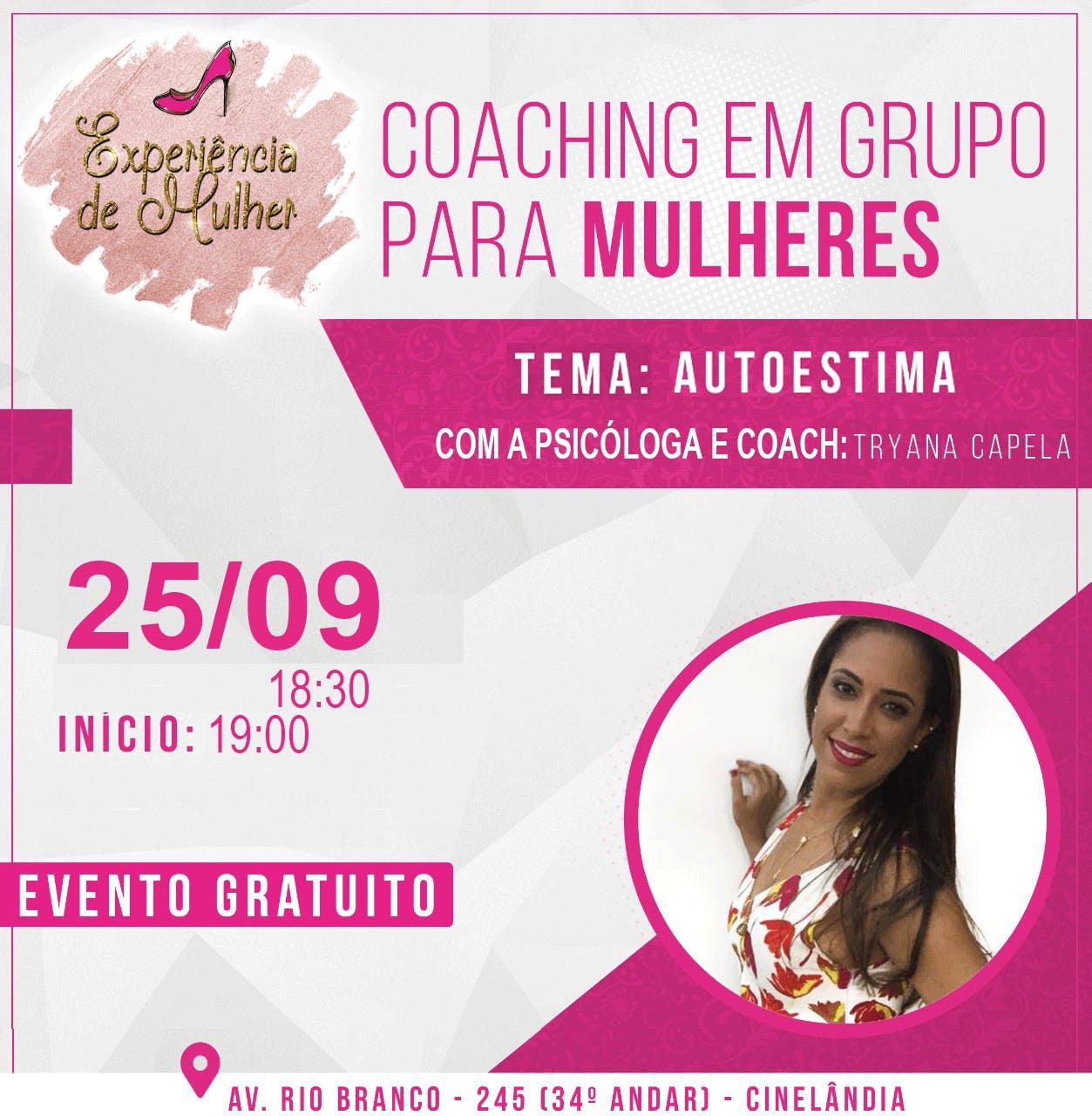Coaching em Grupo - Autoestima