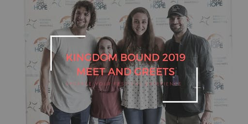 Kingdom Bound 2019 Meet & Greets