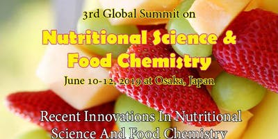 3rd Global Summit on Nutritional Science & Food Chemistry