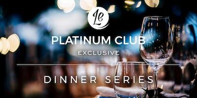 Platinum Club Dinner Series | Auckland