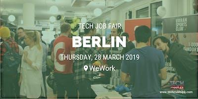 BERLIN TECH JOB FAIR SPRING 2019