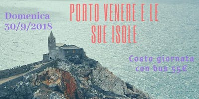 tour PORTO VENERE + ISOLE in bus da Milano domenica 30/9