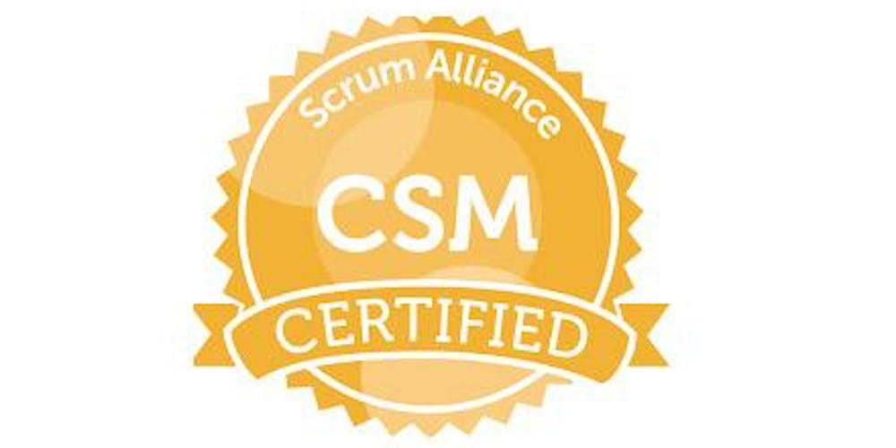 Certified Scrum Master Csm Training In New York Nov 342018