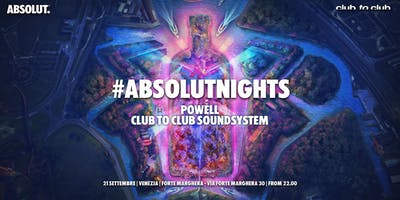 #ABSOLUTNIGHTS Venezia