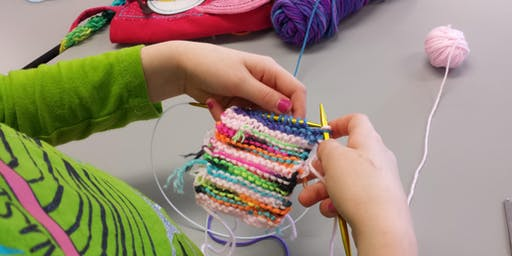 Kids' Intro to Knitting