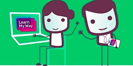 Get Online with Learn My Way (Chorley) #digiskills