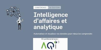 Conférence Intelligence d'affaires et analytique - Les Affaires